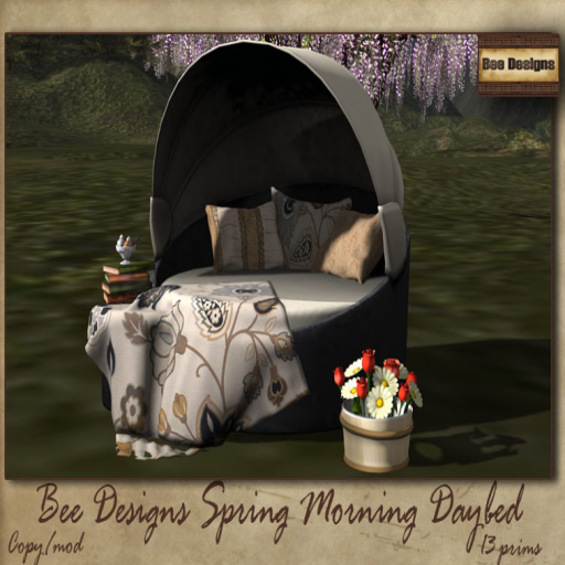 bee designs spring morning bed