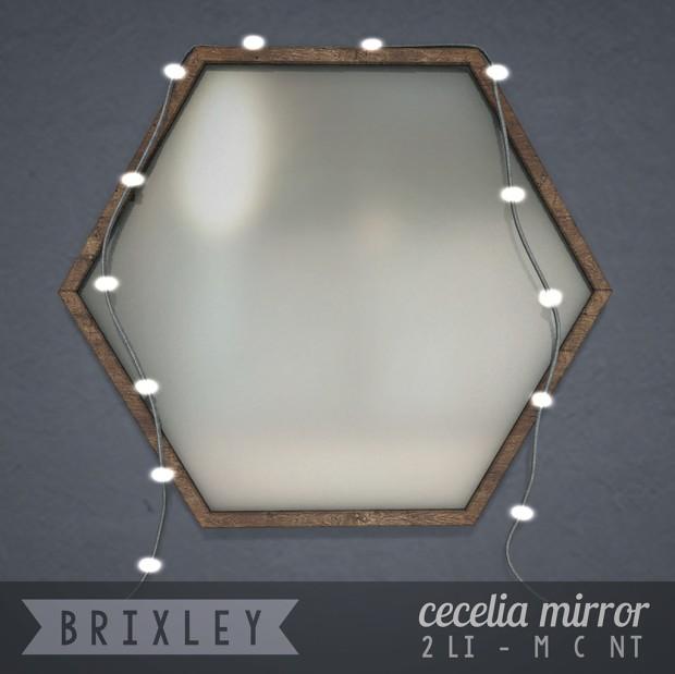 Brixley - Cecelia Mirror - HomeShow