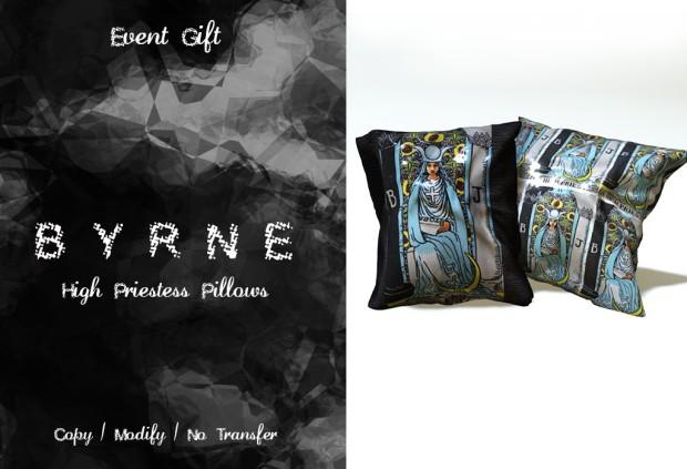 Byrne - pillow - tarot