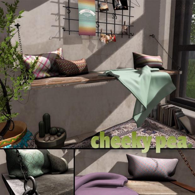 Cheeky Pea - Manzia Plank Bench - Home Show