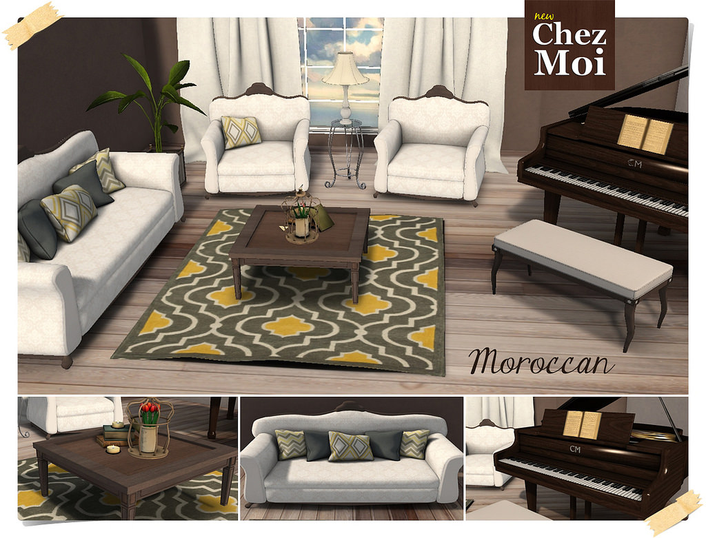 CHEZ MOI MOROCCAN LIVING ROOM Love To Decorate SL