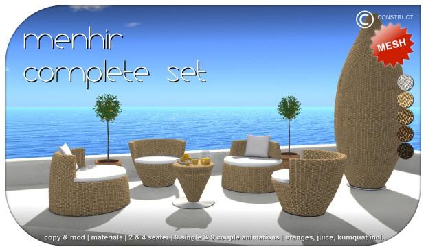 Construct - Menhir set - HomeShow