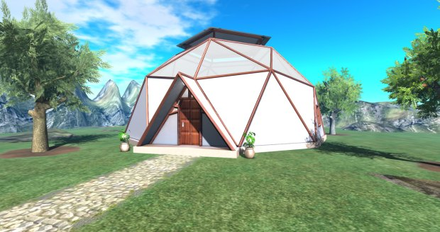Diamantia - geodesic dome