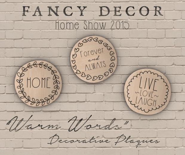 Fancy Decor - plaques - HomeShow