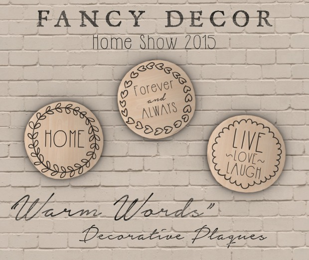 Fancy Decor - plaques - HomeShow