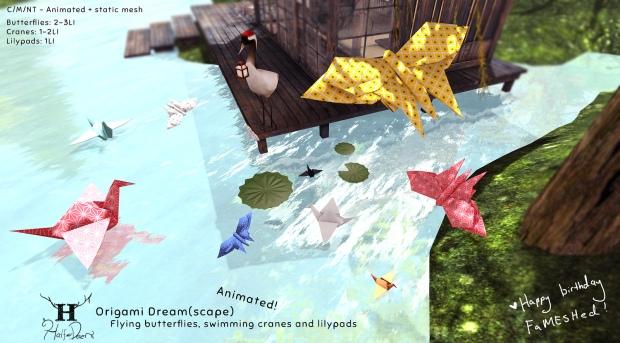 Half-Deer_Origami Dream_Fameshed
