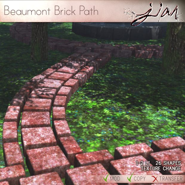 JIAN BEAUMONT BRICK PATH