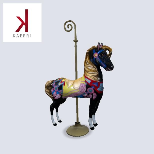 Kaerri_Carousel Horse_new release