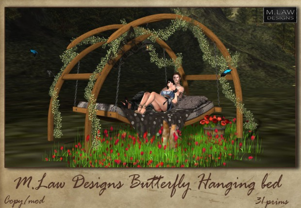 M. Law designs - hanging bed 1