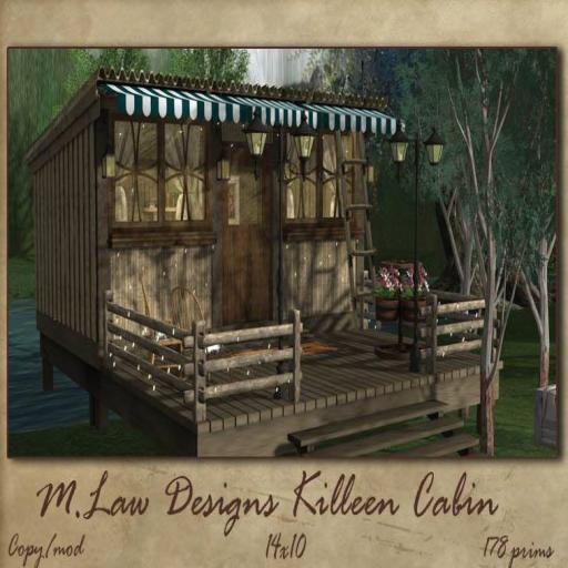 ._M.LAW_. Killeen Cabin