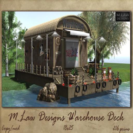 ,_M.LAW_. Warehouse Deck Box