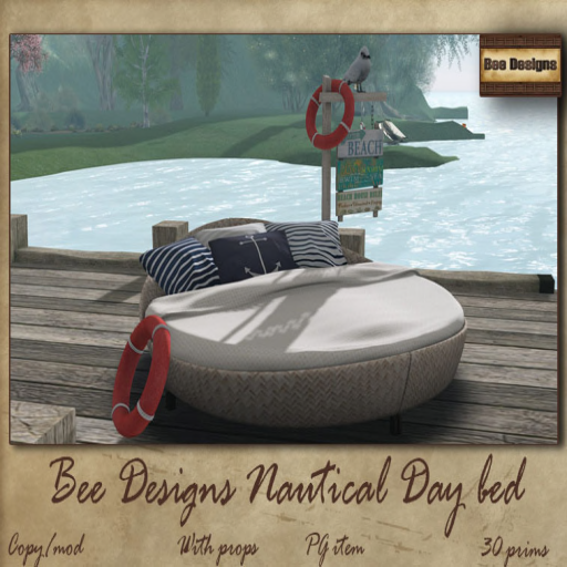 nautical day bed