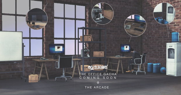 Oyasumi - office gacha - Arcade