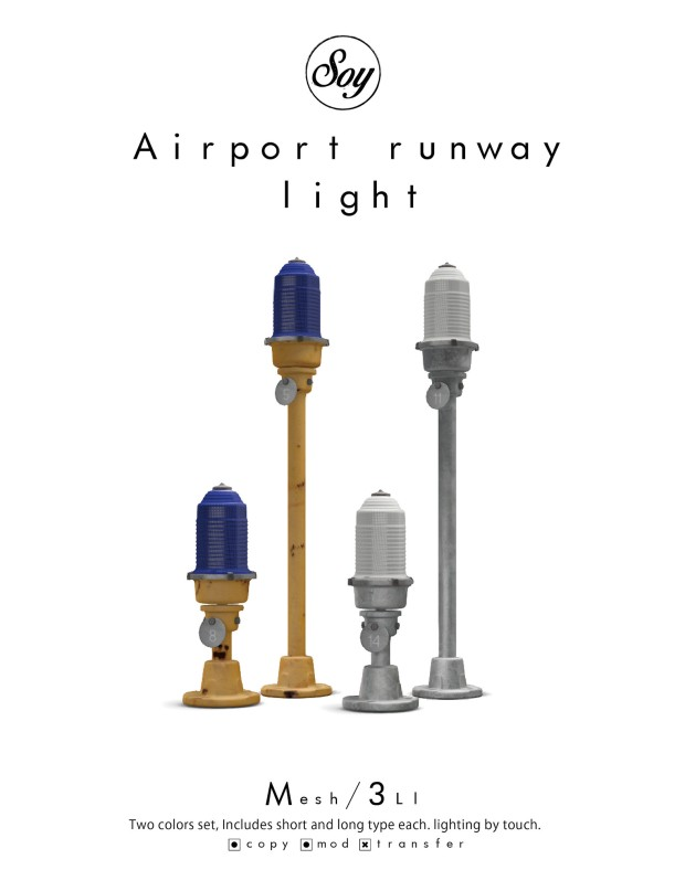 soy - aircraft runway light - 6Republic
