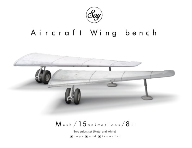 soy - aircraft wing bench - 6Republic