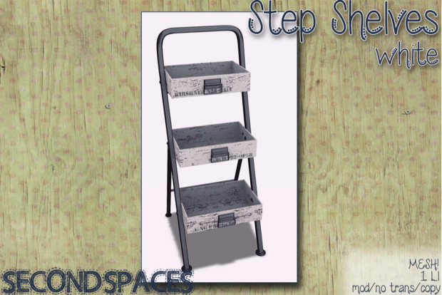 STEPLADDER WHITE