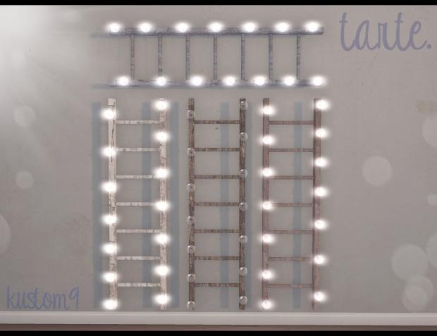 tarte - ladder lights - kustom9