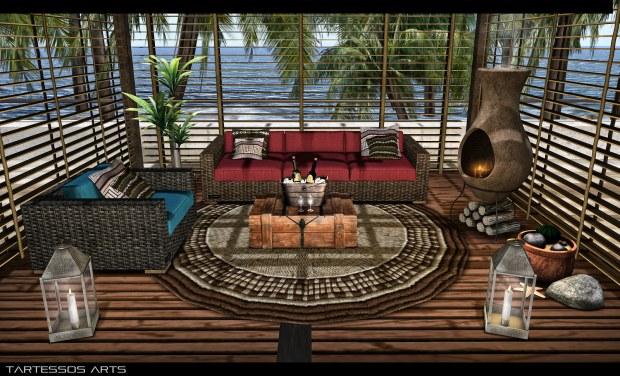 Tartessos Arts - ocean couch set - Mainstore