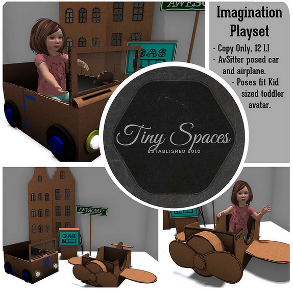 TINY SPACES - IMAGINATION PLAYSET