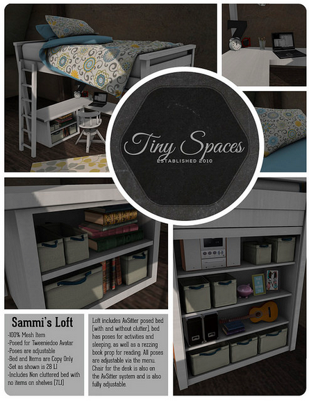TINY SPACES SAMMI'S LOFT