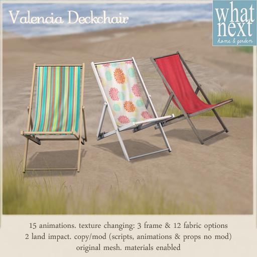 {what next} Valencia Deckchair