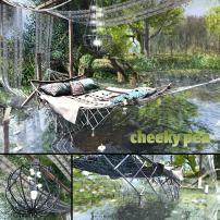 CHEEKY PEA – BOHO DREAMTIME HAMMOCK
