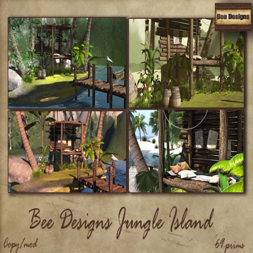 Bee Designs jungle island