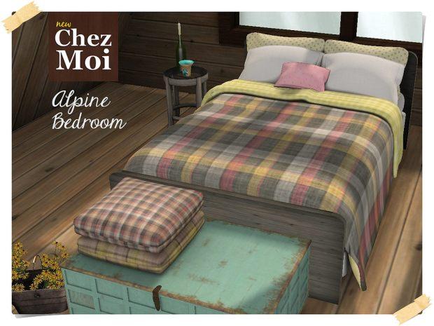 Chez Moi - Alpine bedroom