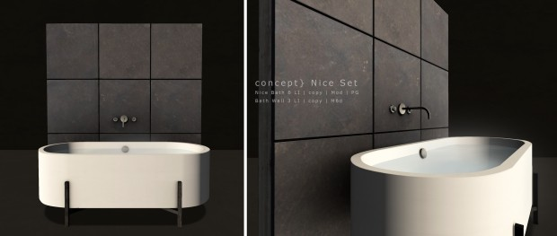 Concept - nice bath set - on9