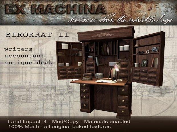 Ex Machina - Birokrat desk - We love RP