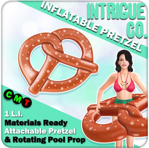 INTRIGUE CO. - INFLATABLE PRETZEL AT COLLABOR88