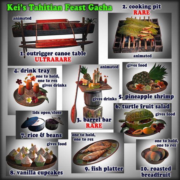 Kei-Spot - Tahitian gacha - MM