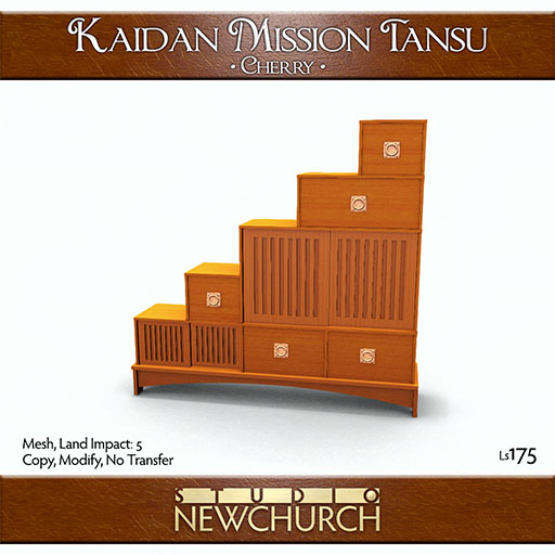 newchurch-kaidan-mission-tansu-cherry