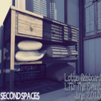 SECOND SPACES – LOTTIE SIDEBOARD.