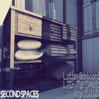 SECOND SPACES – LOTTIE SIDEBOARD.
